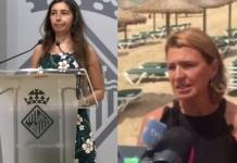 La presidenta de Emaya (izquierda), recuerda al PP de Margalida Durán que en 3 años tuvieron 31 vertidos cuando gobernaban ellos