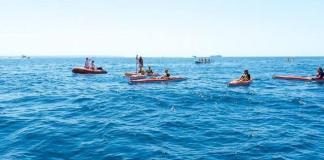 Un golpe de mar ha sido la causa del accidente