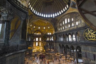 Istanbul, Hagia Sofia innen