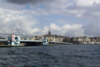 Istanbul, Galatabrücke + Galataturm
