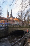 Our visit to Sweden was filled with beautiful bridges and Uppsala was no exception.