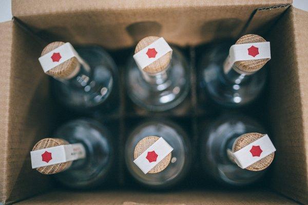 Gin Eva Bottles
