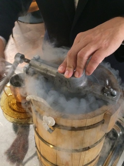 TOMEU Creating Sorbet of 'ginet'