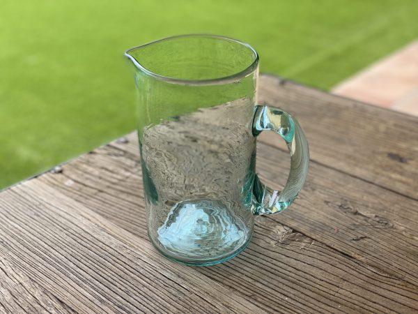 jarra-agua-vidrio-soplado