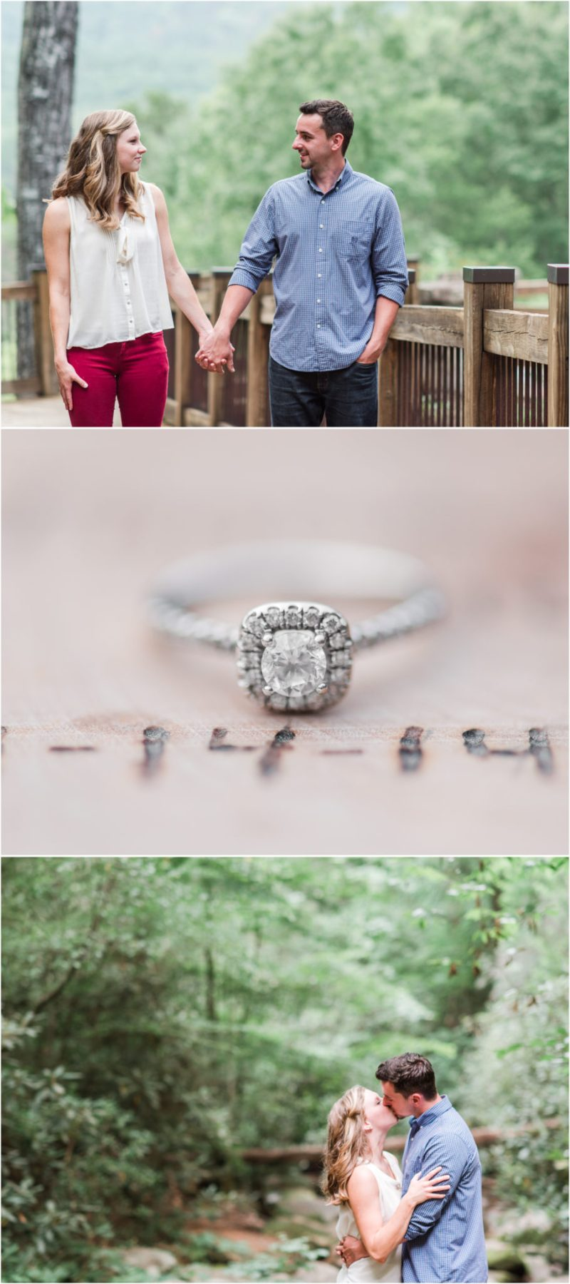Table Rock Engagement Session