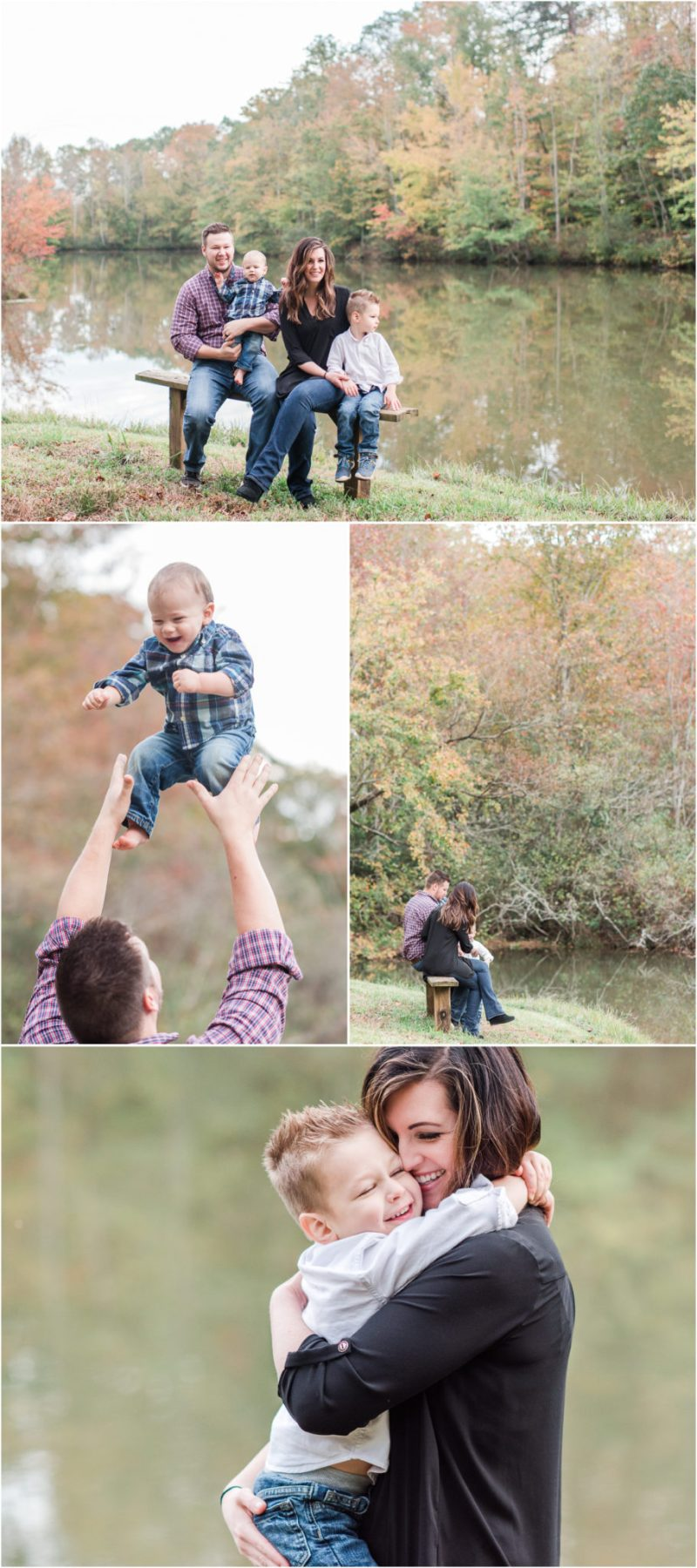 Autumn Family Session in Travelers Rest South Carolina