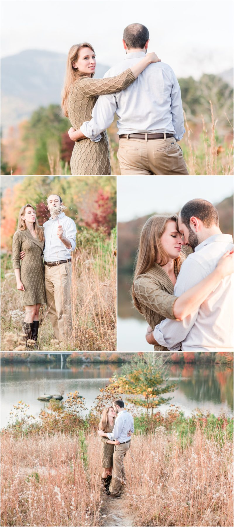 Fall Table Rock State Park Engagement