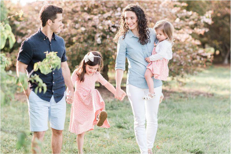 Spring Bloom Spartanburg Family Session