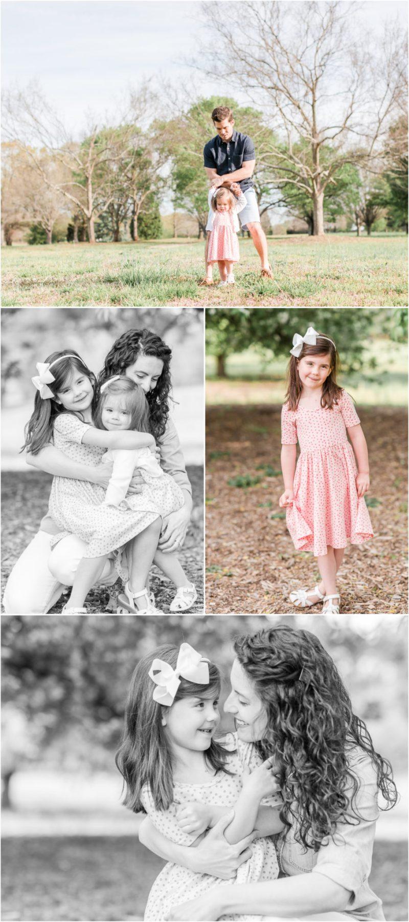 Spring Bloom Spartanburg Family Photos