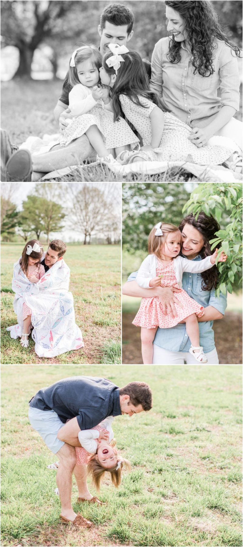 Spring Bloom Spartanburg, South Carolina Family Session