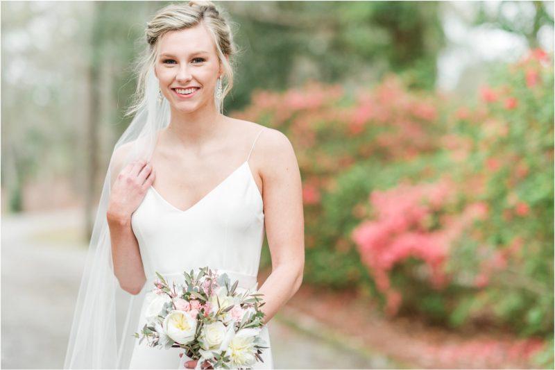 Millstone at Adams Pond Bridal Session in Columbia, South Carolina
