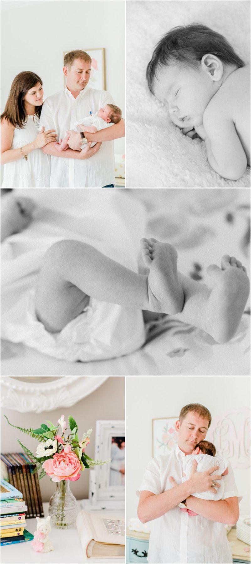 South Carolina in home Clemson newborn session | In home Clemson newborn session | Clemson Newborn Photographer