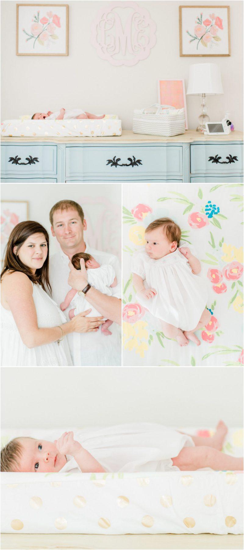 South Carolina in home Clemson newborn session   In home Clemson newborn session   Clemson Newborn Photographer