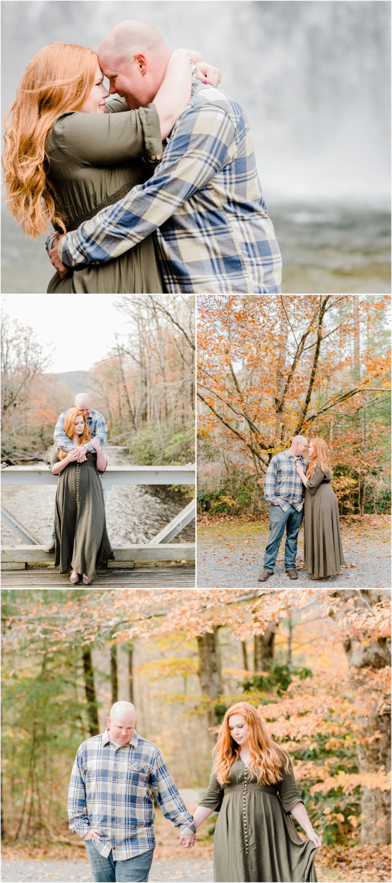 Pisgah National Forest engagement | Brevard, NC