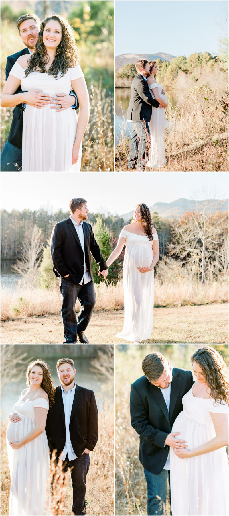 Fall Mountain Table Rock Maternity Session