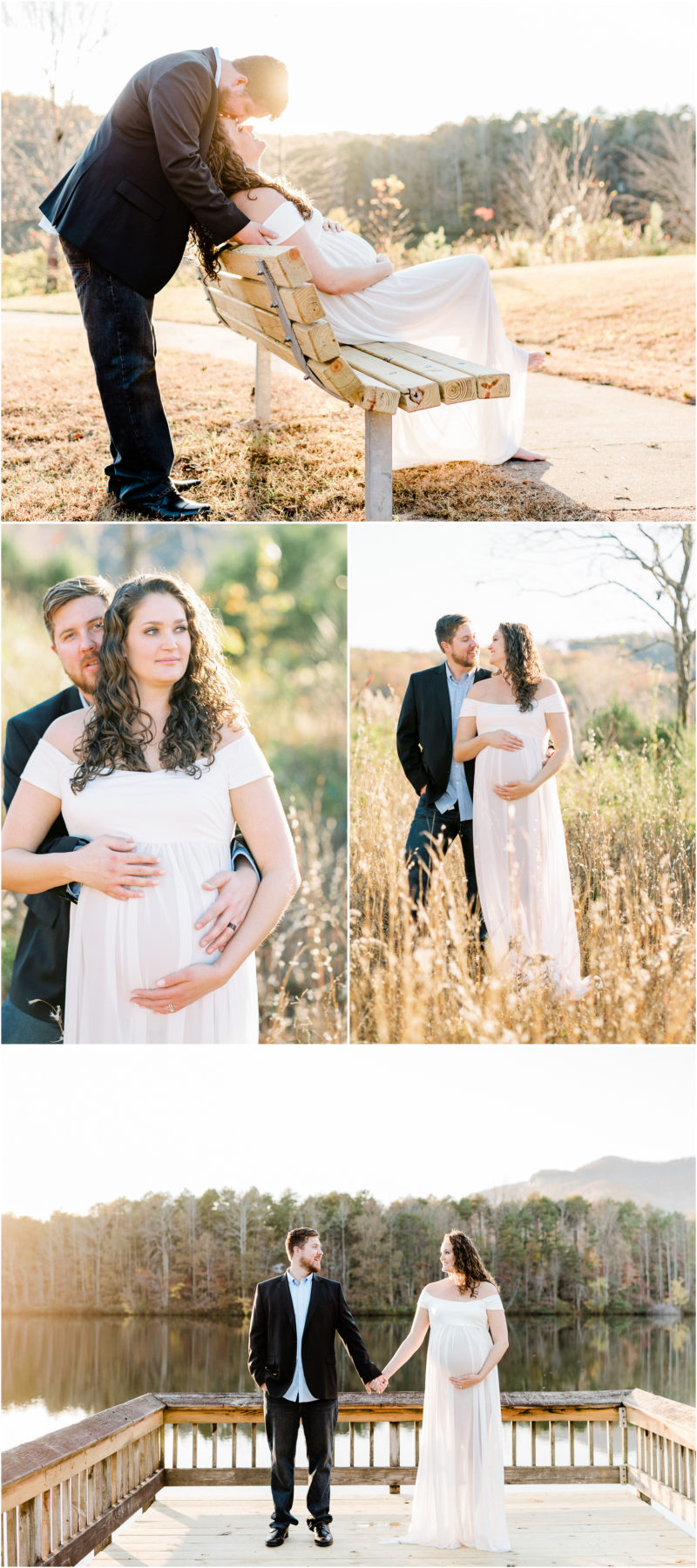 Table Rock Maternity Session | Greenville SC Motherhood Photographer