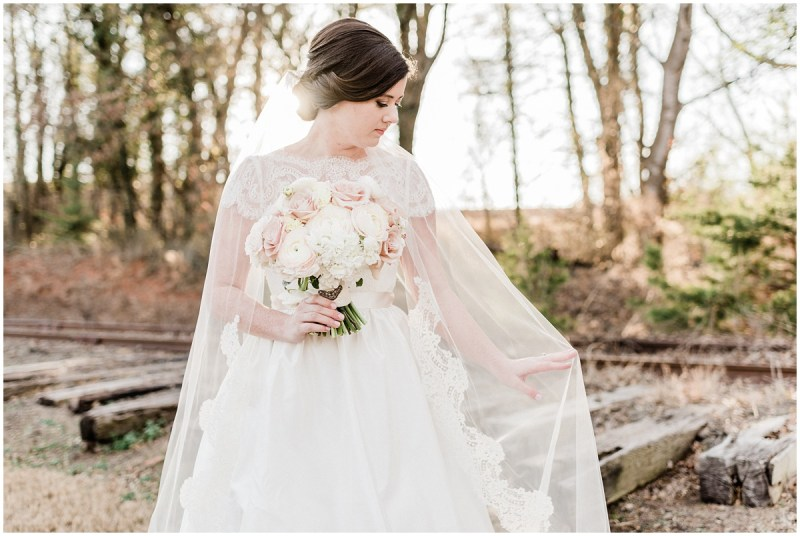 Larkins Sawmill bridal session sunset