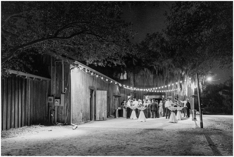 Boone Hall Plantation Wedding cotton dock reception photos