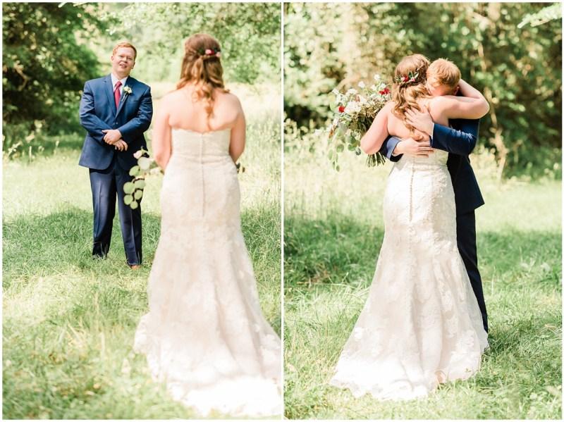 Sleepy Hollow Clemson Wedding First Look