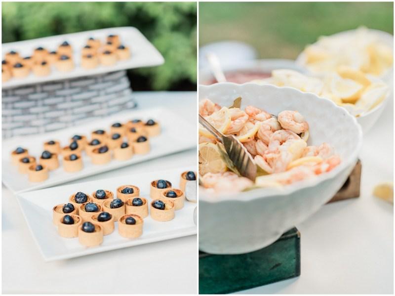Wedding small plate idea