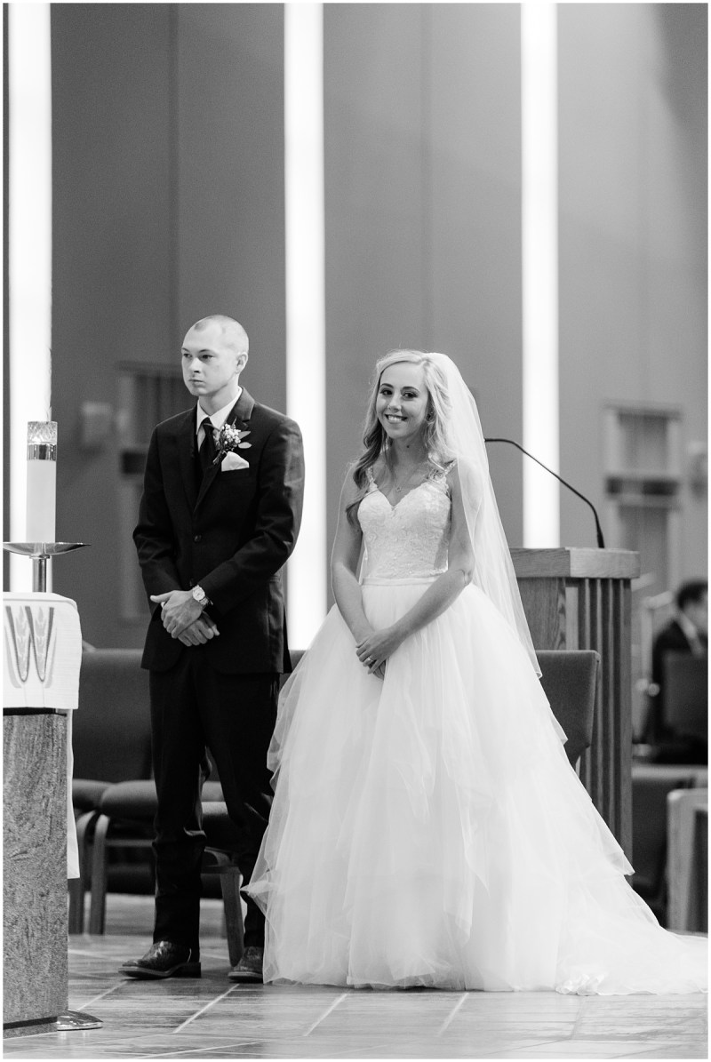 Wedding Ceremony at St. Mary Magdalene Catholic Church