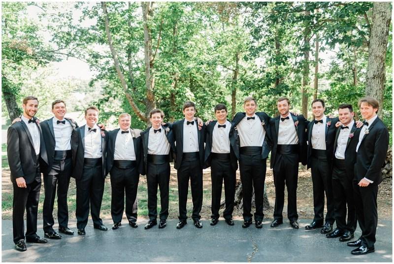 Black Tie Groomsmen Photos