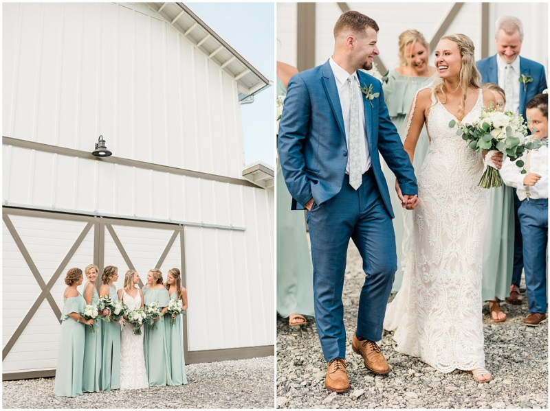 Blue Bridesmaid Dresses | South Wind Ranch Travelers Rest