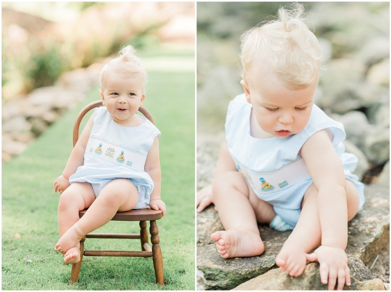 One Year Milestone Session | Greenville, SC Family Photography