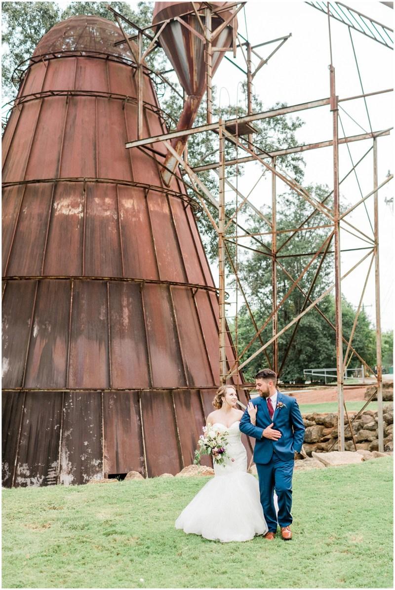 Greenville wedding bride and groom portraits