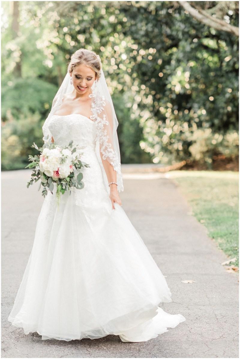 Spartanburg South Carolina bridal portrait