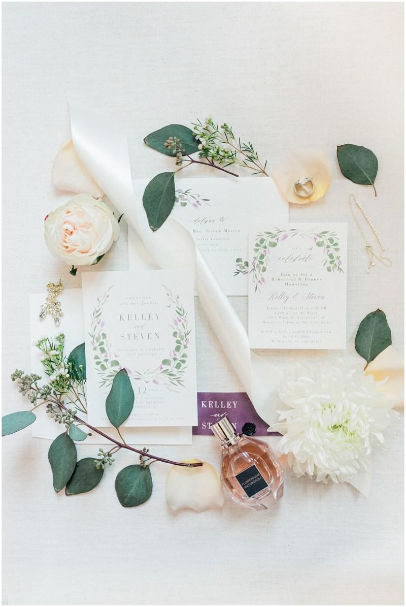 Fine art wedding details wedding invitation suite