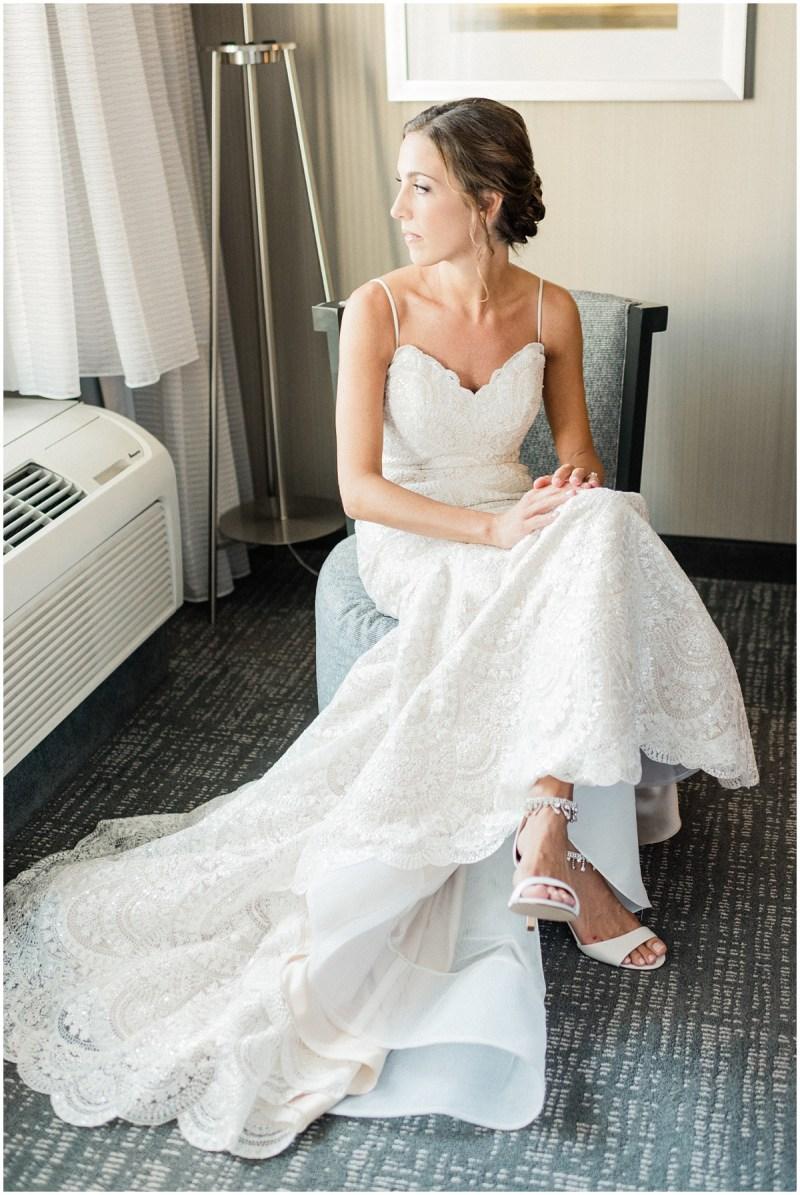 Bridal portrait before the wedding