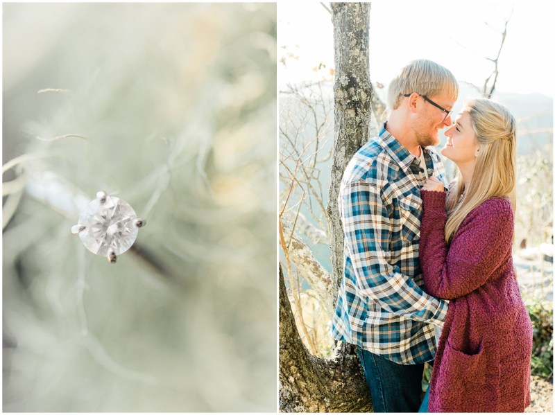 Fall Pickens Nose Engagement Session