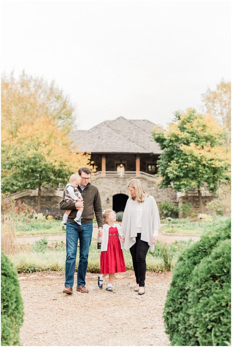 Garden family session