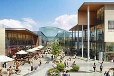 Trinity Walk Shopping Centre - artist's impression - press image