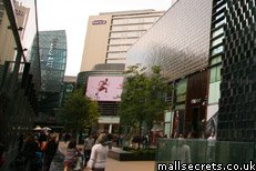 The Premier Inn hotel at Westfield Stratford City