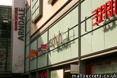 The Arndale shopping centre in Manchester