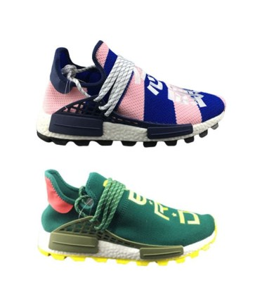 Adidas Human Race Running Shoes