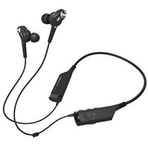 Audio-Technica ATH-ANC40BT QuietPoint Active Noise-Cancelling Bluetooth Wireless In-Ear Headphones - Thephotosavings