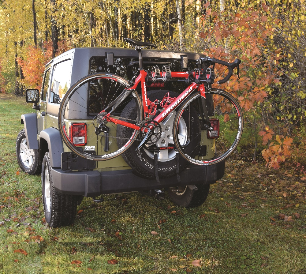 spare tire mount 3 bike carrier