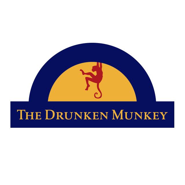 The drunken munkey logo