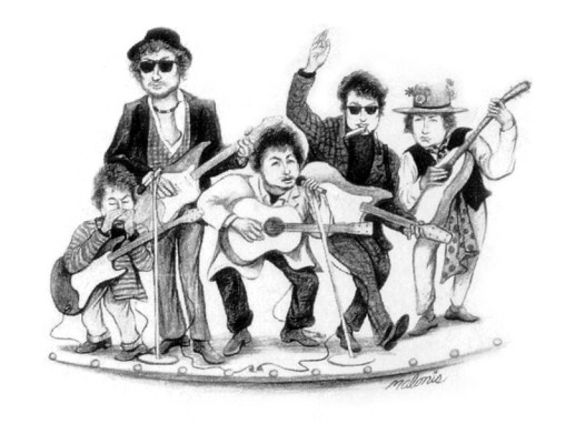 Bob Dylan Look-A-Like Contest