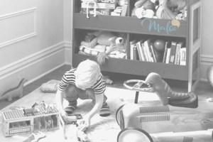 guardar juguetes, zona de juegos, ambiente preparado montessori