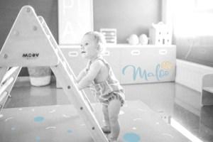 Pikler, montessori, triangulo pikler, maternidad consciente, decoracion infantil, cuarto bebe, maloo studio