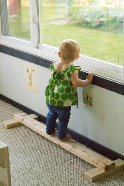 barra de equilibrio, pikler, montessori, decoracion infantil, bebe, maternidad consciente