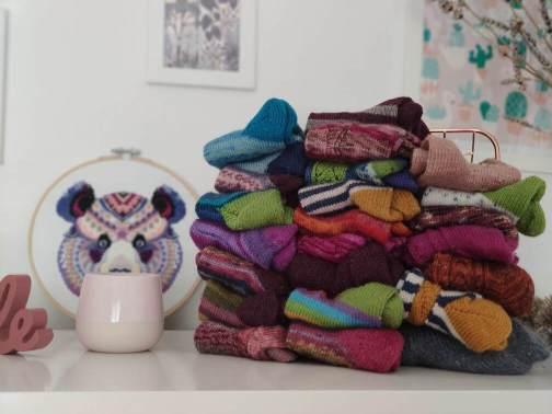 Chaussettes au tricot, tuto gratuit