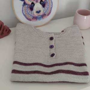Cattleya Tee, polo au tricot