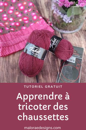 Apprendre à tricoter des chaussettes, tutoriel gratuit