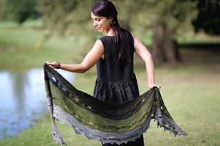 Odyssey shawl - 10 patrons de châle pour l'automne