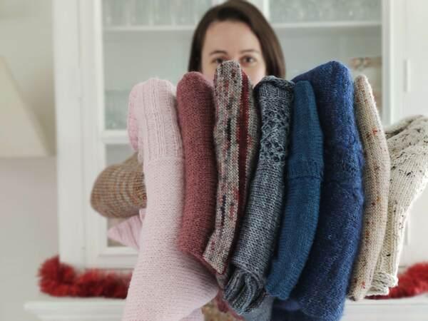 8 modèles tricot pour débuter - Maloraé Designs